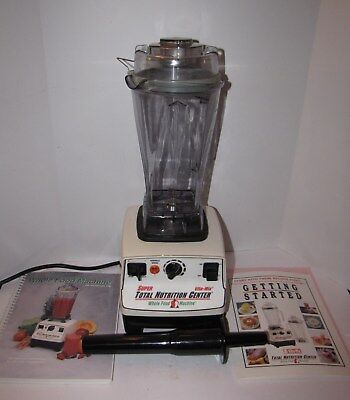 Vitamix Super Total Nutrition Center Variable Speed Blender Vm0103