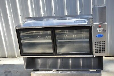 """Randell 42048A 48"""" Wall Mount Refrigerated Display Case"""