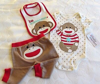 3 Piece Set Clothing - Baby Girl Or Boy Neutral Infant 6-month