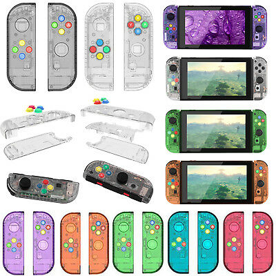 2pcs Housing Shell Case Replacement Cover for NS Switch Controller Joy-Con