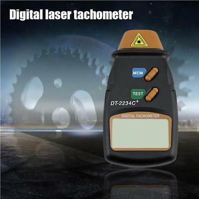 L325 Digital Laser Photo Tachometer Non Contact RPM Tach Speed Gauge EnginI