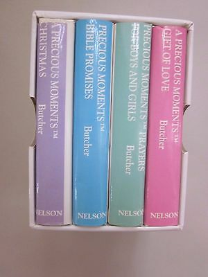 PRECIOUS MOMENTS ITTY BITTY BOOKS COLLECTION - 4 BOOKS Christmas Bible Love