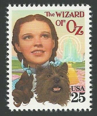 SALE! The Wizard of Oz Judy Garland Dorothy Gale Dog Toto Frank Baum Movie Stamp