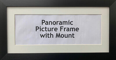 Panoramic Picture Photo Print Poster Frame - Ivory Mount  | Multiple Sizes photo