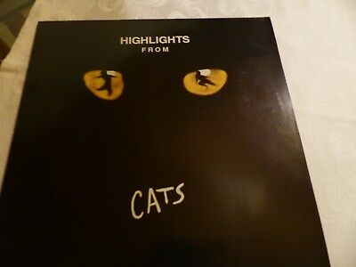 LP Highlights from Cats Really Usefull Rec. 1989, 839 415-1 , Germany
