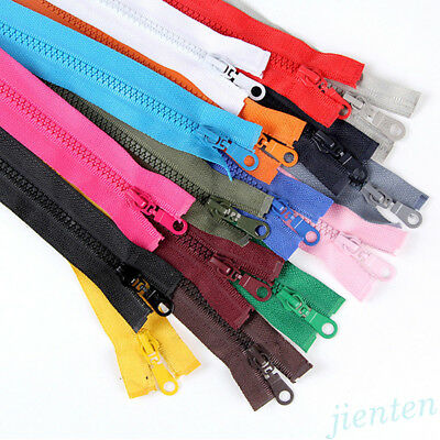 Lots Colors Resin Nylon Zipper For Sweater Jacket Handbags DIY Tailor Sew Craft