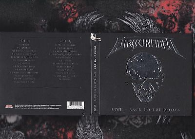 CD DIRKSCHNEIDER Live: Back to the Roots [Digipak] 2016 2 Discs UDO ACCEPT