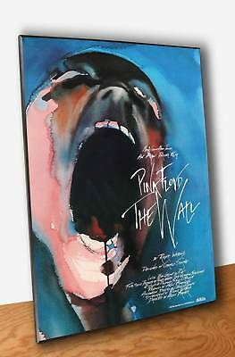 Poster Musica Pink Floyd The Wall Locandina Stampa Fine Art Quadro Pannello MDF