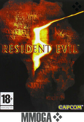 Resident Evil 5 - PC Spiel Key - Steam Download Code - Resident Evil V [EU][DE]