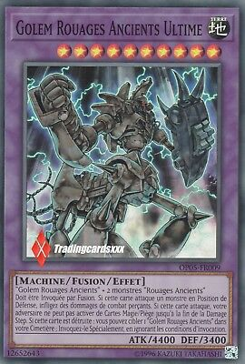 ♦Yu-Gi-Oh!♦ Golem Rouages Ancients Ultime : OP05-FR009 -VF/Super Rare