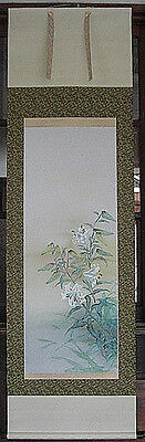 japanese hanging scroll     Lily