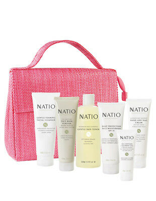 New Natio Bountiful Gift Pack in Aromatherapy 7 Pieces Gift Set