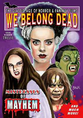 We Belong Dead #12 (2014, UK 80 pages) new and unopened