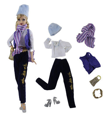 1 Set Fashion Handmade Doll Clothes Outfit for 11.5in.Doll P34