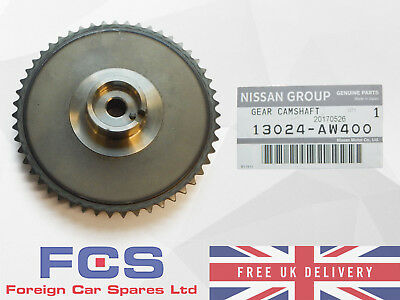 *new* Genuine Nissan X-Trail T30 Primera P12 Yd22 Camshaft Sprocket 13024-Aw400