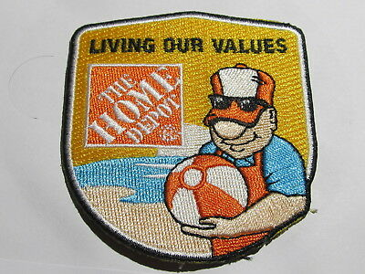 home depot collectibles homer award patch