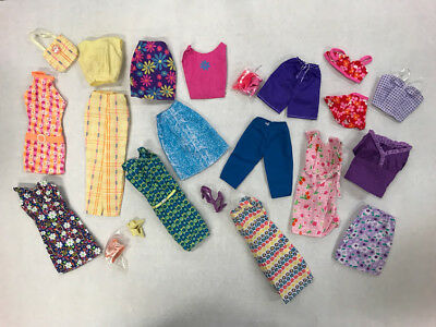 LOT 36 Mattel Tagged Barbie Doll Clothes and Accessories Lot