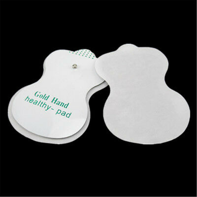 60/100Pcs Gold Hand Healthy-pad Replacement Electrode Pads Massage Patches