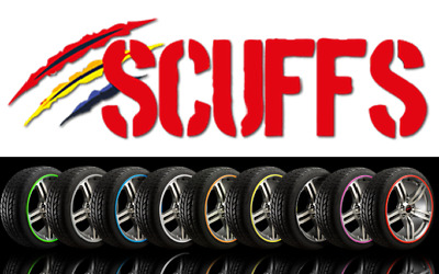 SCUFFS by Rimblades Car Tuning Alloy Wheel Rim Protector Tyre Guard 1STRIP ONLY+