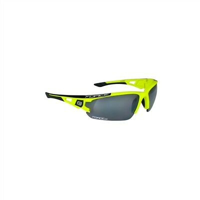 Occhiali ciclismo Force AIR con 3 lenti Fluo/black KVmRH4