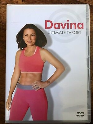 Davina - Ultimate Target ~ Exercise Fitness Routine Workout | UK DVD