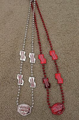 Southern Comfort Mardi Gras Beads SO CO set of 12 Plastic NEW