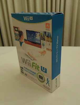 Wii Fit U Nintendo Fitness Video Game, Brand New Factory Sealed with Fit Meter