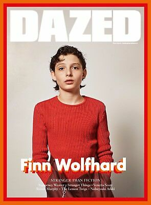 Finn Wolfhard Cover - DAZED & CONFUSED magazine Winter 2016 NEW