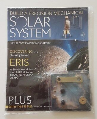 Eaglemoss Build A Precision Mechanical Solar System Issue 45 Magazine Partwork