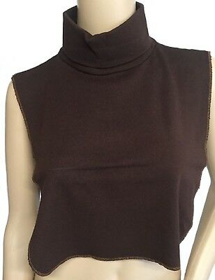 Turtleneck Dickies, Dickey, Chocolate Made In Us Direct From Mfg Free Shipping