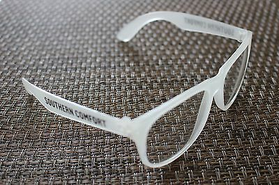 Southern Comfort Plastic Glow in the Dark Eye Glasses UV 400 QTY 5 Pairs NEW