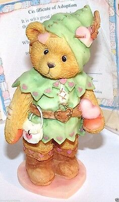 Cherished Teddies Robin You Steal My Heart Away #156434 Enesco 1995