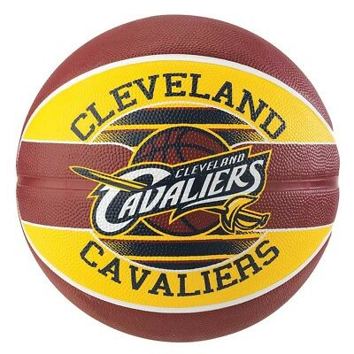NEW Spalding Team Series Cleveland Cavaliers Basketball   from Rebel Sport