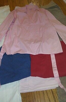 VGUC Motherhood Oh Baby 6pc Mixed Lot  Maternity Clothing Sets Size L Cords Tops