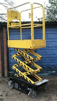 BOSS X3(2011) Micro,scissor Lift,access Platform Genie,skyjack,cherry picker