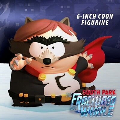 "South Park™: Fractured But Whole RARE 6"" Coon/Cartman Figurine COMPLETE with box"