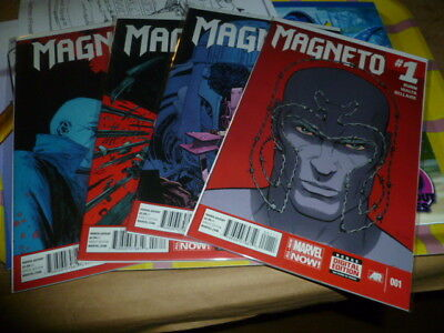 Magneto #1 2 3 4 5 6 7 8 Set X-Men Run #1 - 8 Lot Marvel Now! BUNN VF/NM