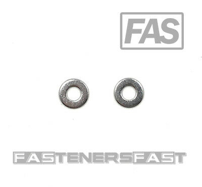 (100) #8 Stainless Steel Flat Washer (100 PCS) Fast Free Shipping