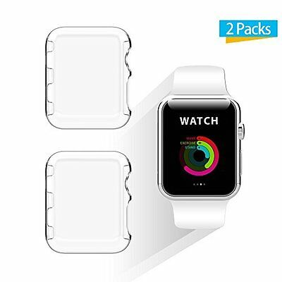 Apple Watch 38mm Screen Protector Case for Apple Watch Series 2 2 Pack Clear