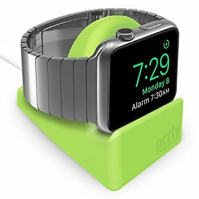 Apple Watch Stand Series 3 42mm & 38mm iWatch Charging Dock Nightstand Green New