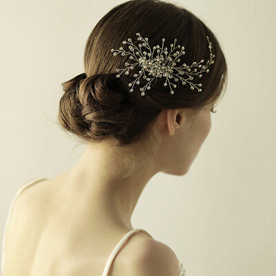 Crystal Hair Comb Wedding Party Prom Bridal Headpiece Hair Clip Pins Jewelry New