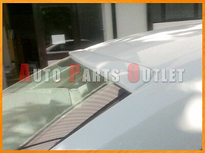 2009-2012 AUDI A4 B8 4Dr Sedan OE Look Roof Spoiler Wing Lip - Select Your Color