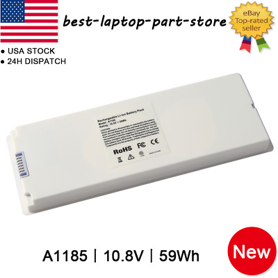 "Laptop Battery For Apple MacBook 13"" A1181 A1185 MA561 MA566 White Black Lot"