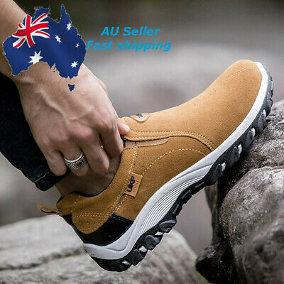 AU Casual Mens Outdoor Sports Shoes Breathable Sneakers Running Walking Shoes