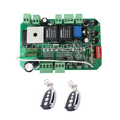 Replacement automatic sliding gate opener 24VDC motor control circuit board