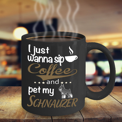 Miniature Schnauzer Dog Coffee Mug, Cup