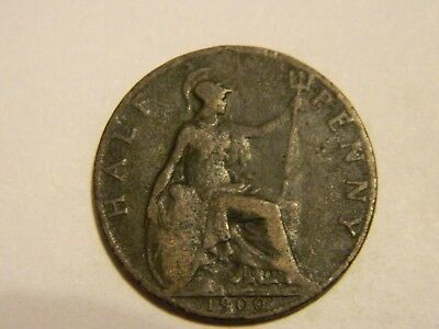 1900 Great Britain Half Penny ---Lot #273