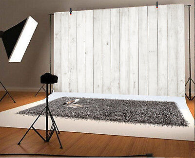 Gray Wood Board 7x5ft Photography Backgrounds Plank Photo Studio Backdrops Props