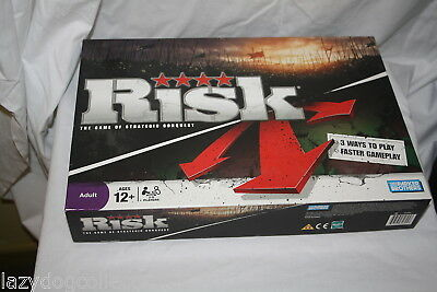 RISK Board Game Strategy Board Game Parker Brothers 2008
