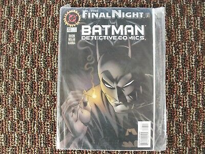 DC The Final Night Batman Detective Comics No 703 Nov 96